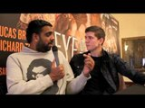 LUKE CAMPBELL - 'I AM EXPECTING A TOUGH FIGHT FROM LEE CONNELLY' / INTERVIEW WITH KUGAN CASSIUS