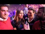 JAMES 'ARG' ARGENT INTERVIEWS FERNE McCANN & CHARLIE SIMS (WITH KUGAN CASSIUS) / FROCH v GROVES