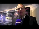 GLENN McCRORY TIPS PADDY GALLAGHER TO WIN PRIZEFIGHTER - THE WELTERWEIGHTS IV (INTERVIEW)