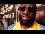 'EVERYBODY COULDN'T WAIT FOR ADRIEN BRONER TO TAKE HIS FIRST LOSS' - ADRIEN BRONER TALKS TO iFL TV