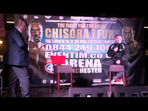 'IF HE'S LOVES IT, GOOD AT IT & KEEPS AT IT, HE'LL HAVE DAD'S SUPPORT' -RICKY HATTON ON SON CAMPBELL