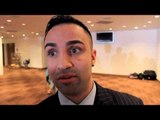 PAULIE MALIGNAGGI REACTS TO CARL FROCH v GEORGE GROVES 2 PRESS CONFERENCE