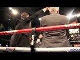 EDDIE HEARN CAN'T CONTAIN HIMSELF CELEBRATING FROCH'S KNOCKOUT OVER GROVES / FROCH v GROVES 2