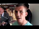 GARY BUCKLAND - IM NOT FIGHTING HIS RECORD IM FIGHTING HIM, HES GOING TO KNOW IM THERE