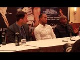 JAMES DeGALE TO FACE MARCO ANTONIO PERIBAN ON NOV 22 IN LIVERPOOL - FULL PRESS CONFERENCE