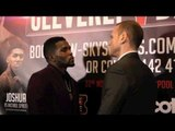 GEORGE GROVES v DENIS DOUGLIN - HEAD TO HEAD @ FINAL PRESS CONFERENCE / CLEVERLY v BELLEW 2