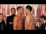 JAMES DeGALE v MARCO ANTONIO PERIBAN - OFFICIAL WEIGH IN FROM LIVERPOOL / CLEVERLY v BELLEW 2