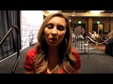 CRYSTINA PONCHER TALKS ANDY LEE WINNING WBO CROWN & TIMOTHY BRADLEY v DIEGO CHAVES ENDING IN A DRAW