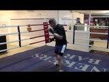 PETER McDONAGH SHADOWBOXING WARM UP @ MGM MARBELLA