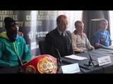 MERSEY BOYS FULL PRESS CONFERENCE FEAT ZOLANI TETE v PAUL BUTLER FRANCIS WARREN & DERRY MATHEWS