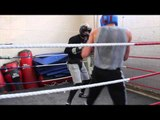 TONY OWEN SPARRING FOOTAGE AHEAD OF APRIL 18TH COMEBACK / iFL TV