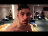 JOE PIGFORD IN AN ABSOLUTE WAR FOR FIRST FIGHT ON BOXNATION - POST FIGHT INTERVIEW