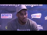 ANTHONY JOSHUA POST FIGHT PRESS CONFERENCE AFTER DESTROYING KEVIN 'KINGPIN' JOHNSON