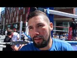 TONY BELLEW - 'I WANT THE BEST & THATS YOAN PABLO HERNANDEZ OR MARCO 'CAPTAIN' HUCK' / iFL TV