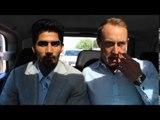 ON THE ROAD - INDIAN SUPER STAR VIJENDER SINGH & FRANCIS WARREN TALK TO HELDER FOR CASSIUS & HELDER