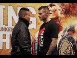 MARTIN MURRAY v JOSE MIGUEL TORRES - HEAD TO HEAD @ FINAL PRESS CONFERENCE / MARCHING ON TOGETHER