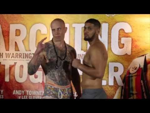 ARFAN IQBAL v ROLANDAS CESNA - OFFICIAL WEIGH IN (FROM LEEDS) / MARCHING ON TOGETHER