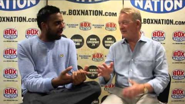 'I THOUGHT RONDA ROUSEY WAS A MAN TOO!' - FRANK WARREN ON THE MAYWEATHER / ROUSEY / UFC DEBATE