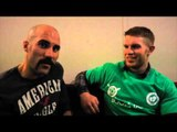 'GOT TO SAY AT THE MOMENT SPIKE YOUR NOT LOOKING FAT AT ALL'-  STEVE COLLINS JR & SPIKE O' SULLIVAN