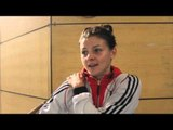 INTRODUCING GB BOXER SANDY RYAN TO THE iFL TV VIEWERS @ THE SHEFFIELD INSTITUTE OF SPORT