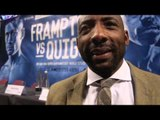 JOHNNY NELSON BELIEVES THAT FRAMPTON HAS BEEN RATTLED BUT STILL BACKS HIM TO BEAT QUIGG (KIND OF)