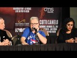 FREDDIE ROACH - 'ME & MIGUEL COTTO THOUGHT HE OUT SCORED SAUL CANELO ALVAREZ - & TALKS CANELO v GGG
