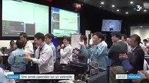 Espace : la sonde japonaise Hayabusa 2 se pose sur un astéroïde
