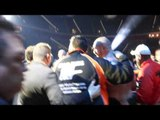 UNSEEN! - THE GYPSY KING WALKS! - TYSON FURY & TEAM FURY MAKE THEIR WAY FROM THE RING AS CHAMPION!