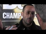 JAMES DeGALE PREDICTS HE WILL TAKE LUCIAN BUTE OUT EARLY in STYLE  / DEGALE v BUTE