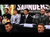 LIAM SMITH v JIMMY KELLY - OFFICIAL PRESS CONFERENCE WITH MITCHELL SMITH, GEORGE JUPP, WILLIAMS