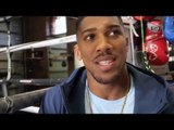 ANTHONY JOSHUA DISCUSSES STORMZY - DILLIAN WHYTE BEEF, HAYE / FURY & POTENTIAL OPPONENTS FOR APRIL 9