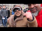 'ALI' TELLS SHANNON BRIGGS TO KNOCK OUT DAVID HAYE WITH A LEFT HOOK / THE SHANNON BRIGGS UK TAKEOVER
