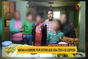 Hombre es asesinado al intentar frustrar asalto en San Martín de Porres