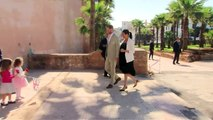 Duke and Duchess of Sussex visit Andalusian Gardens