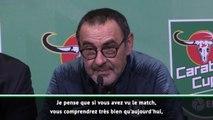 """League Cup - Sarri : """"Je maîtrise la situation"""""""