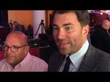 'WE WANT TO TO PUT THE PRESSURE ON. I WANT JACOBS TO FIGHT THE WINNER OF CANELO-GGG' - EDDIE HEARN