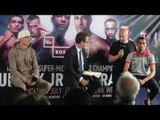 LEE SELBY v JONATHAN BARROS - OFFICIAL PRESS CONFERENCE & HEAD TO HEAD / SELBY v BARROS