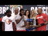 HAVE YOUR CAKE - & EAT IT! - ADRIEN BRONER GIVES A BIRTHDAY CAKE TO HIS TWIN BROTHER AFER WEIGH IN