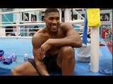 $$$ HOW MANY BAGS? - ANTHONY JOSHUA REVEALS HOW MUCH HE HAS SPENT ON JEWELLERY SINCE TURNING PRO