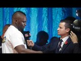 PAAAAINNNN!! DILLIAN WHYTE POST WEIGH IN REACTION TO HIS FIGHT WITH ROBERT HELENIUS / JOSHUA v TAKAM