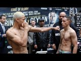 WHATS GOING ON? - LYON WOODSTOCK BAFFLES CRAIG POXTON WITH CRAZY STANCE IN WEIGH IN / EDGE OF GLORY