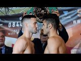 COME ON TAYLOR! - JOSH TAYLOR v MIGUEL VAZQUEZ - OFFCIAL WEIGH-IN VIDEO   TAYLOR v VAZQUEZ