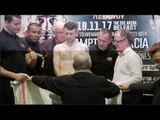 PUT IT AWAY PADDY! PADDY BARNES v ELIECER QUEZADA - OFFICIAL WEIGH IN & HEAD TO HEAD