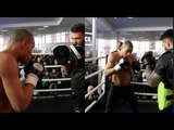 GEORGE GROVES v CHRIS EUBANK JR - THE *FULL* CHRIS EUBANK JR WORKOUT - FEAT CHRIS UBANK SNR