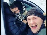 'DONT STOP BELIEVING! **** THE NAYSAYERS' - TYSON FURY LIVING LIFE - SENDS MESSAGE IN THE SNOW