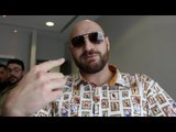 'TAKE THE $50M' - TYSON FURY RAW ON WILDER-JOSHUA OFFER, SLAMS ITV MAN & ON GIVING AJ BOXING ADVICE