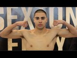 HENNESSY SPORTS YUSUF SAFA STEPS ON SCALES AHEAD OF 8TH PROFESSIONAL CONTEST / SEXTON v FURY