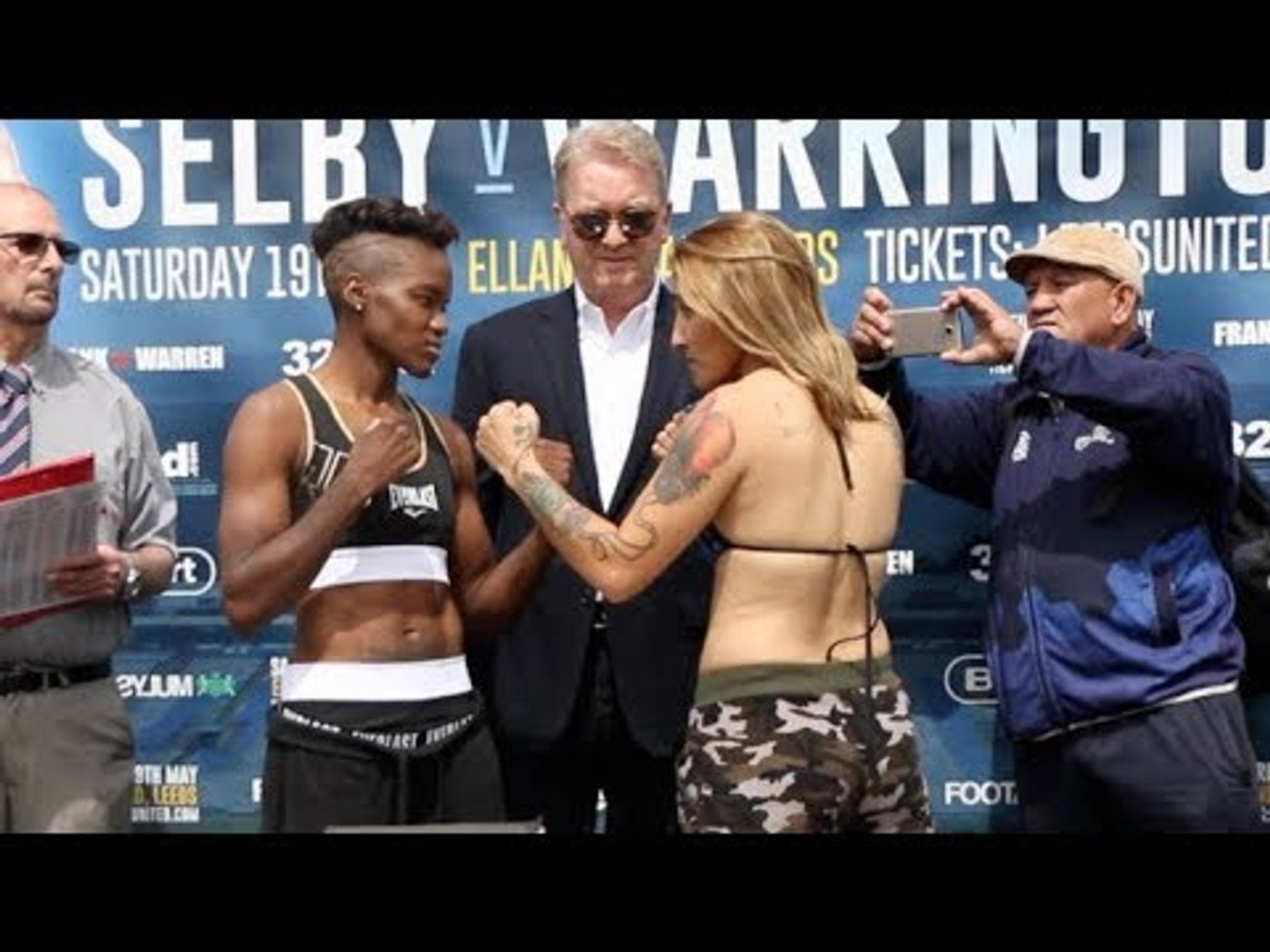 THE LIONESS RETURNS TO LEEDS!  - NICOLA ADAMS OBE v SOLEDAD DEL VALLE FRIAS - OFFICIAL WEIGH IN