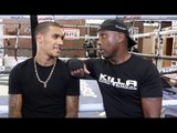 'IF YOU CAN'T BEAT PEYNAUD - GIVE UP BOXING!' - NIGEL BENN TELLS HIS SON CONOR BENN STRAIGHT