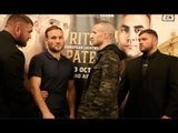 COULD THIS BE A WAR? - GLEN FOOT v ROBBIE DAVIES JR FACE-OFF AHEAD OF BRITISH/ COMMONWEALTH CLASH